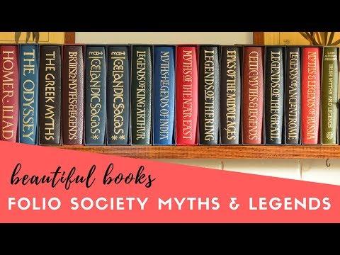 Folio Society Myths & Legends Series | Beautiful Books