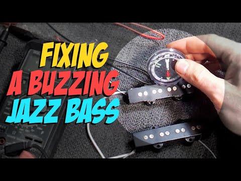 Fixing a Buzzing Jazz Bass