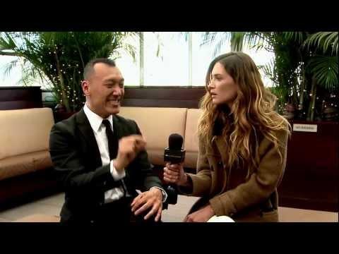 Erin Wasson with Joe Zee Fashion New York 2012