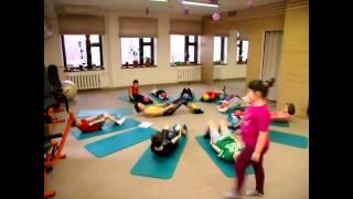 Детский пилатес киев левый берег фитнес клуб MISSFITNESS
