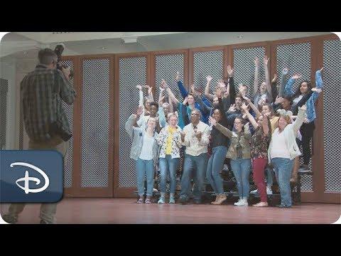 Broadway Stars Kissy Simmons & Alton Fitzgerald White Surprise Disney Performing Arts Students