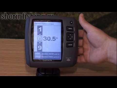 Garmin Echo 201DV - обзор возможностей эхолота