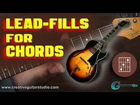 🎸 GUITAR THEORY: Tasty Lead Fills for Chords - YouTube
