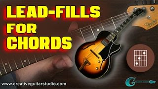 guitar theory: tasty lead fills for chords