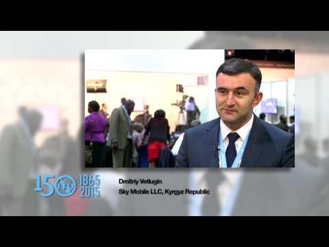 ITU 150 SOUNDBYTE: Dmitriy Vetlugin, Sky Mobile LLC, Kyrgyz Republic