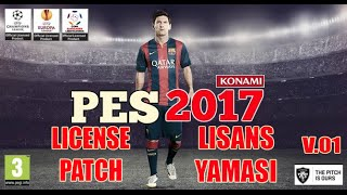 Pes 2017 [ PS3 ] Lisans Yaması ( License Patch )