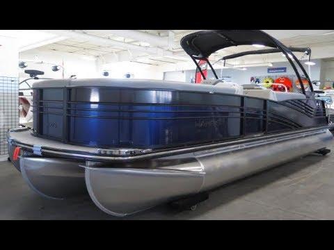 2018 Harris Grand Mariner 250 Pontoon Boat For Sale MarineMax Rogers Minnesota