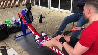 Concept 2 Indoor Rowing World Record. 100k Tandem Men's 40-49