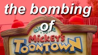 the 2013 Disneyland bombing