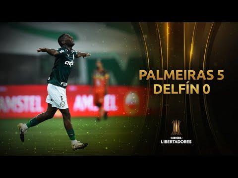 Palmeiras Delfin Goals And Highlights