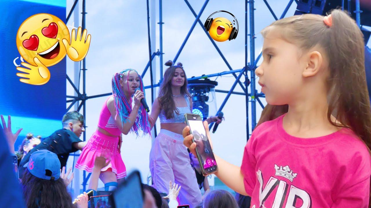 DOR DE VOI🎤 Cum a fost la concertul lui @Iuliana Beregoi 💃 Ciao Patricia Vlog / Muzica pentru copii