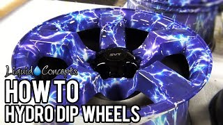 HOW TO HYDRO DIP WHEELS | Liquid Concepts | Weekly Tips and Tricks