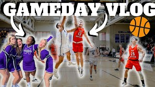 INTENSE D3 College Basketball Home Game ! | GAME DAY VLOG