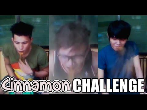 Cinnamon Challenge || with Claro Saplala and Mic Delgado
