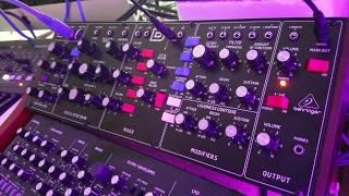Behringer Model D - Day 3 - Sound Tweaking - Just Music