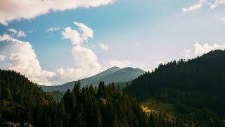 Sunny Sky in the Mountains | Stock Footage - Videohive