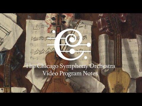 CSO Video Program Notes: Classical and Baroque Treasures