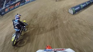 2015 Lille SX | Malcolm Stewart Saturday Heat Race | TransWorld Motocross