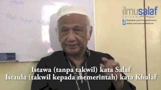 Prof. Dr. Abdulfatah Haron - Sifat 20, Ilmu Tauhid & Di Mana Allah?