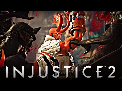 Thumbnail: Injustice 2 Online - First Time Using Hellboy Online!!