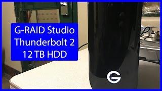 G-RAID Studio 12 TB | Unboxing & Speed Test