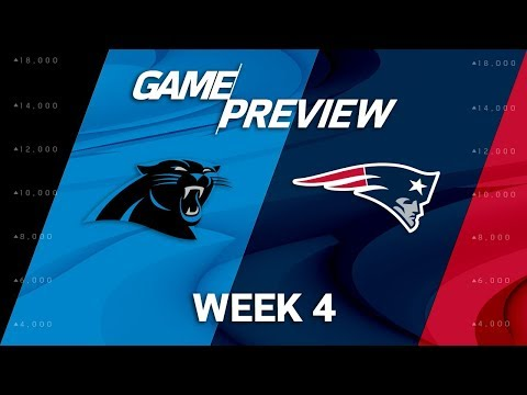 Carolina Panthers vs. New England Patriots | Week 4 Game Preview | NFL Playbook