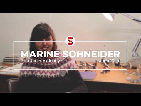 Marine Schneider | Artist in Residency | June 2016