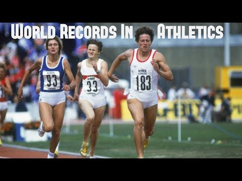 World Records in Athletics (Women's)