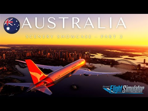 Microsoft Flight Simulator 2020   Australia Cinematic Scenery Showcase Ultra Graphics Part 3