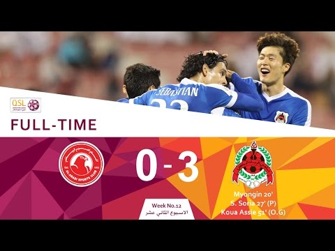 Al Rayyan 3 - 0 Al Arabi (Week 12)