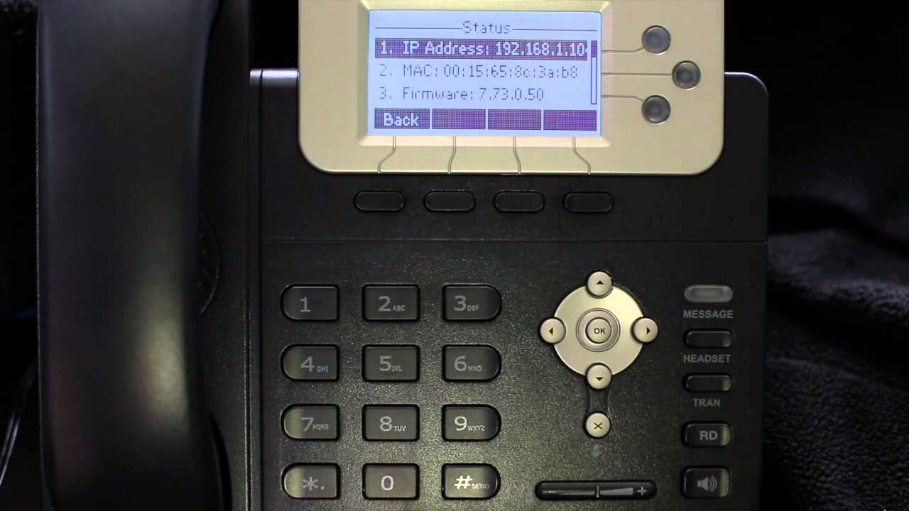 Mac lookup ip Address yealink w52p manual