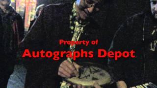 Original Soundgarden Hiro Yamamoto signing autographs in Seattle
