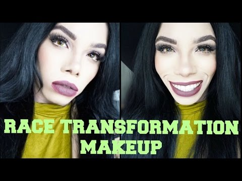 FROM BLACK TO WHITE RACE TRANSFORMATION