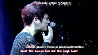Kim Jaejoong 김재중 - One Kiss (2013 Mini Concert) [eng + rom + hangul + karaoke sub]