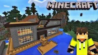 Casa Del Bosque Survival Minecraft Pe 0 11 0 Youtube