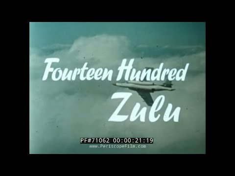 "ROYAL NAVY 1960s COLD WAR PROMOTIONAL FILM ""1400 ZULU"" 71062"