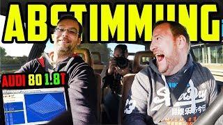 ABSTIMMEN mit André! - Audi 80 Typ 81 1.8 TURBO! - Macht noch mehr LEISTUNG Sinn?