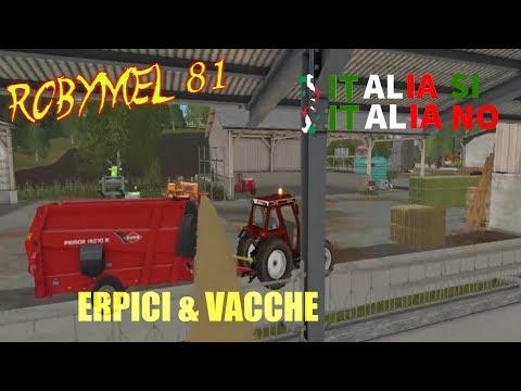 Farming Simulator 17- ITALIA SI ITALIA NO - 04 - Erpici & Vacche