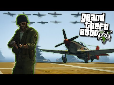 GTA V WORLD WAR II MOD - Aerial Battles, Naval Battles, and MORE! - Gta 5 Mods