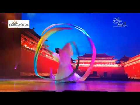 Genting Dream Cruise Chinese Opera Water Sleeve Dance Performance