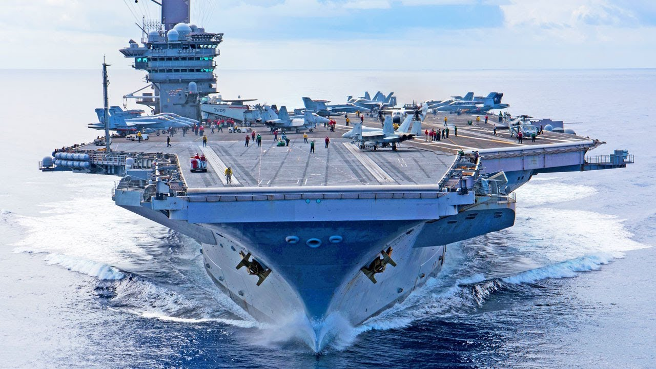 USS Carl Vinson Flight Operations, Takeoffs and Landings on Aircraft Carrier