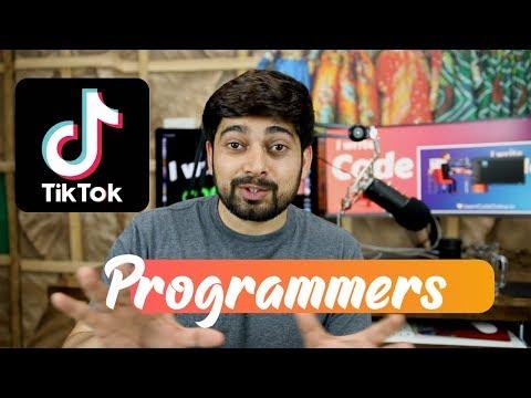 Programmers should love TiKToK - YouTube