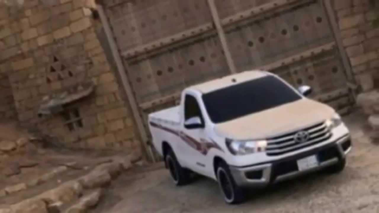 تطعيس ونصب هايلكس هلي 2016 + شيله مسرعه خطيره ...