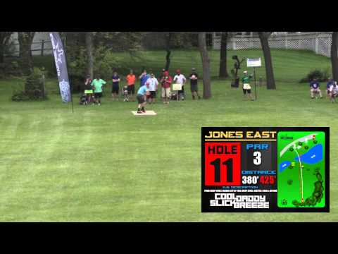 Billy Engel Ace on Hole 11 Jones East | 2015 Glass Blown Open