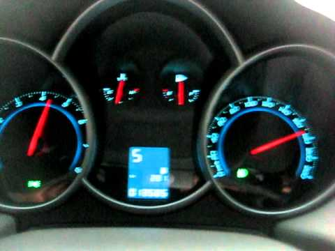 Chevrolet Cruze 180 Km/h
