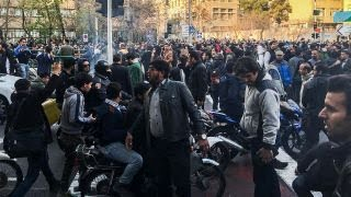Anti-government protests roil Iran