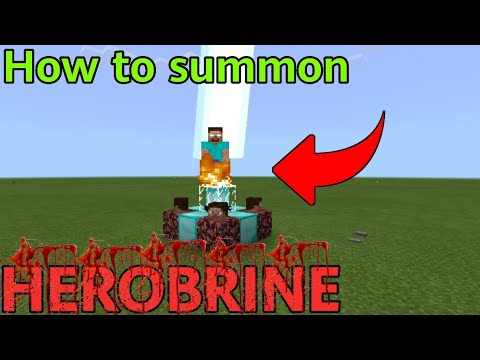 How To Summon Herobrine In Minecraft(Real 100% Work)