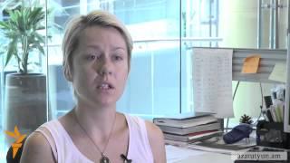Ցուցարար կինը «զրպարտանք» է որակում ՀՀ ոստիկանապետի խորհրդականի հայտարարությունը