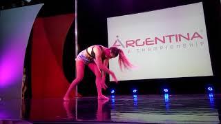 Pole dance championship Argentina panamerican showcase