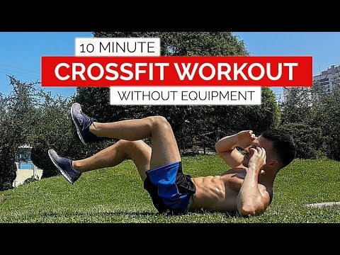 10 Min Crossfit Workout Without Equipment | HIIT | Full Body | Gym Performane